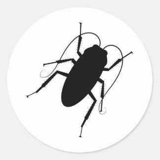 Cucaracha Pegatinas Redondas