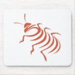 Cucaracha que silba de Madagascar Tapetes De Raton
