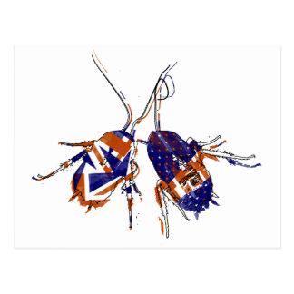 Cucarachas del Ameri-Británico Postal