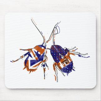 Cucarachas del Ameri-Británico Alfombrillas De Ratón