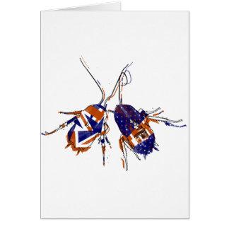 Cucarachas del Ameri-Británico Tarjeta