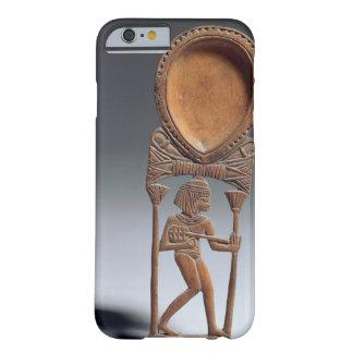 Cuchara cosmética con una figura de un lutenist, funda barely there iPhone 6