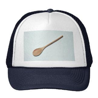 Cuchara de madera para el trabajo de la cocina gorras de camionero