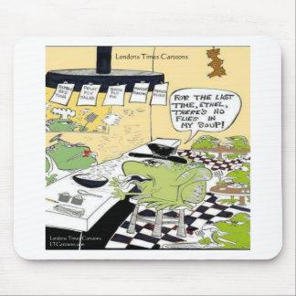 Cuchara grasienta para los regalos y las tarjetas  alfombrilla de raton