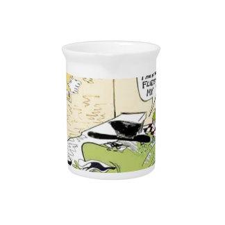 Cuchara grasienta para los regalos y las tarjetas jarrones