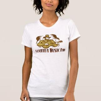 Cucharada casual de las señoras de la fan de camisetas