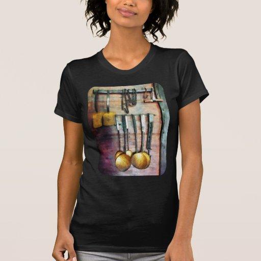 Cucharones y espátulas camisetas