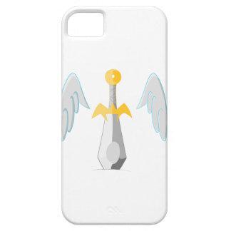 Cuchilla coa alas iPhone 5 fundas