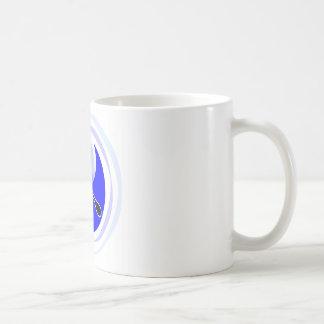 Cuchilla doble de Yin-Yang Tazas De Café