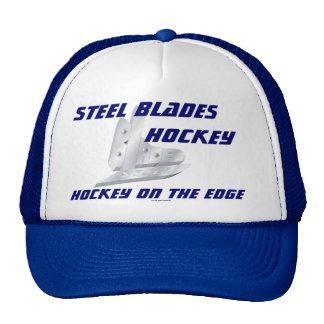 Cuchillas de acero gorras de camionero