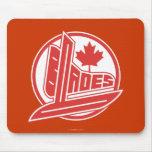 Cuchillas de Canadá Alfombrillas De Ratón