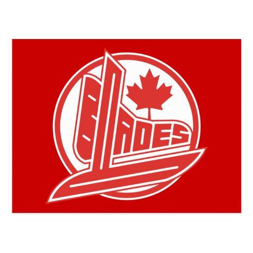 Cuchillas de Canadá Postal
