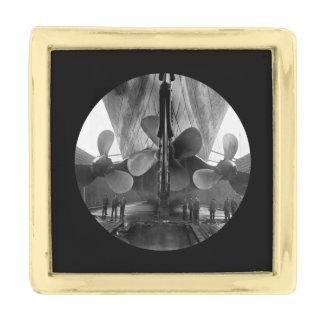Cuchillas de propulsor titánicas del RMS Insignia Dorada