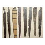 Cuchillas del hierro de Viking para las espadas Tarjetas Postales