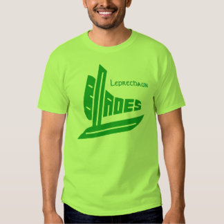 Cuchillas del Leprechaun Camisas