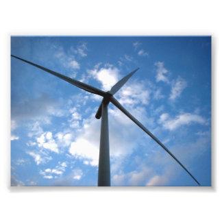 Cuchillas del molino de viento fotografia
