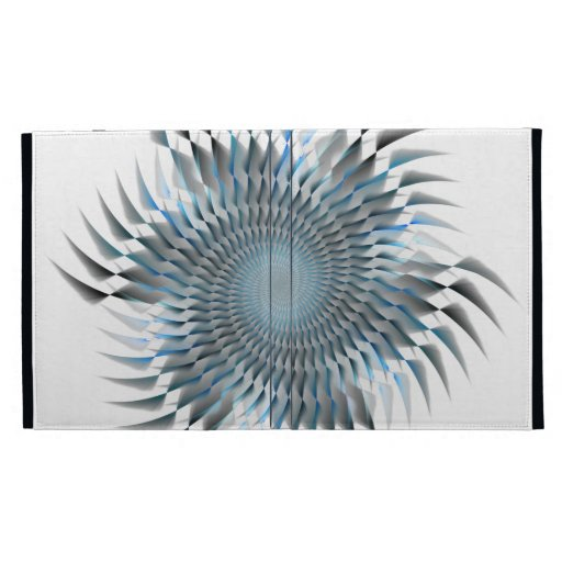 Cuchillas espirales azules