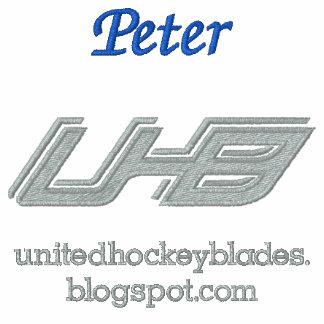 Cuchillas unidas del hockey (primarias) camiseta polo