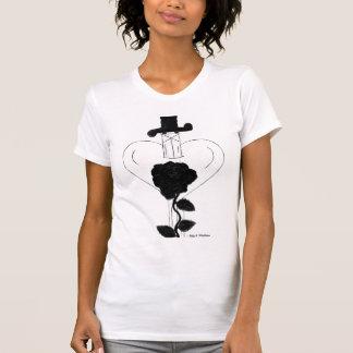 Cuchillo con diseño del dibujo del corazón por camisetas
