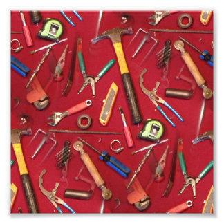 cuchillo de la llave del destornillador que sondea arte fotográfico