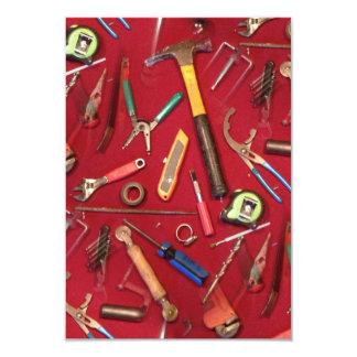 """cuchillo de la llave del destornillador que sondea invitación 3.5"""" x 5"""""""