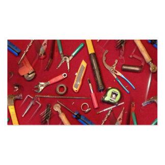 cuchillo de la llave del destornillador que sondea tarjetas de visita