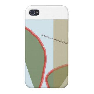 """""""Cuchillo de paleta """" iPhone 4 Funda"""