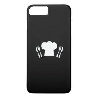 Cuchillo del gorra del cocinero y cocina o funda iPhone 7 plus