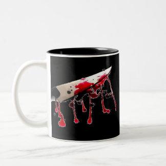 Cuchillo sangriento II Taza De Café
