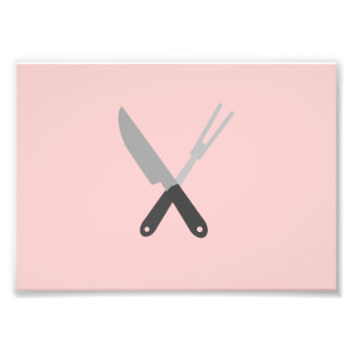 cuchillo y bifurcación cojinete