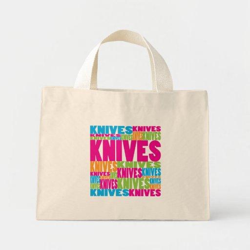 Cuchillos coloridos bolsa
