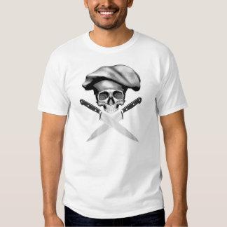 Cuchillos del cráneo n del cocinero camisas