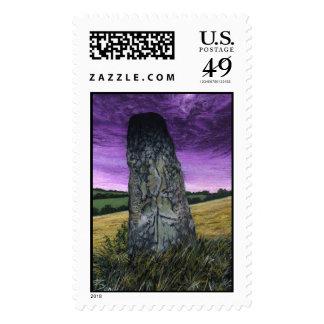 Cuchulainn's Stone Postage