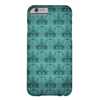 Cuckold-Cuckoldress-Hotwife damask pattern - Green Barely There iPhone 6 Case