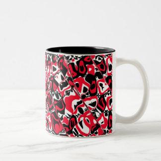 Cuckoo Abstract Coffee Mugs