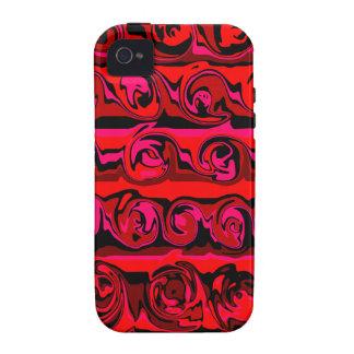 Cuckoo Abstract Swirl iPhone 4 Covers