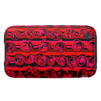 Cuckoo Abstract Swirl iPhone 3 Tough Cover