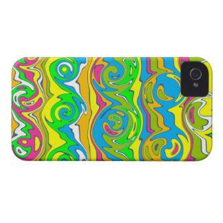 Cuckoo Abstract Swirl Case-Mate iPhone 4 Cases