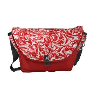 Cuckoo Abstract Swirl Messenger Bag