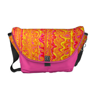 Cuckoo Abstract Swirl Courier Bags