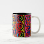 Cuckoo Abstract Swirl Mugs