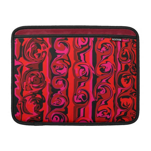 Cuckoo Abstract Swirl Sleeves For MacBook Air