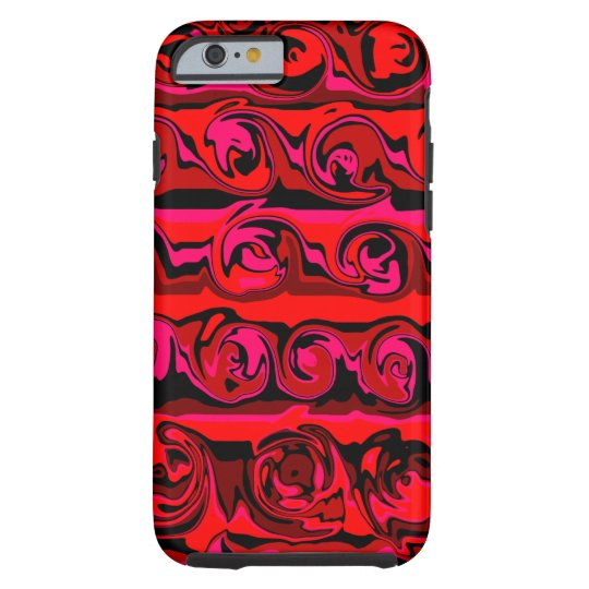 Cuckoo Abstract Swirl Tough iPhone 6 Case