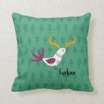 Cuckoo Bird Pillow