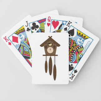 Cuckoo Clock Bicycle Playing Cards