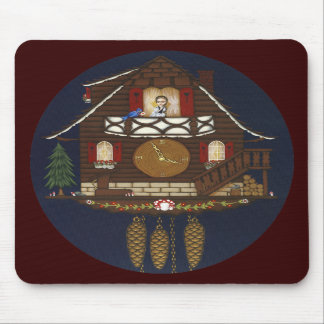Cuckoo Clock House Mousepad! Mouse Pad