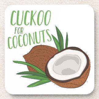 Cuckoo Coconuts Beverage Coaster