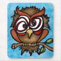 Cuckoo Owl Mousepad mousepad