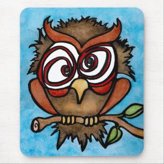 Cuckoo Owl Mousepad