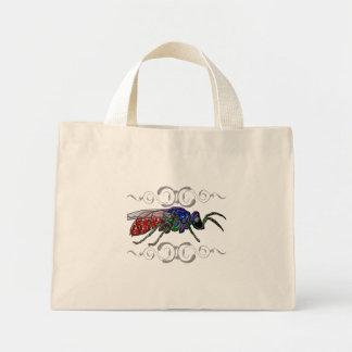 Cuckoo Wasp Mini Tote Bag